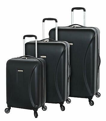 Regent Square Luggage 3 Piece Set Suitcase with GoodYear Spinner Wheels - Hard C
