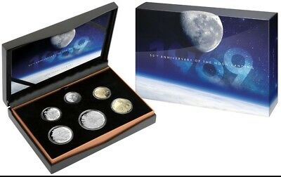 2019 Proof Year Set-50th Anniversary of Moon Landing-Royal Aust Mint-Free Post