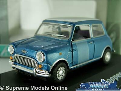AUSTIN MORRIS MINI TRAVELLER MODEL CAR VAN 1:43 SCALE CREAM CARARAMA K8Q