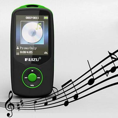 Mini  MP3 Player Bluetooth Support Up To 64GB Micro SD Card 4GB Internal Memory