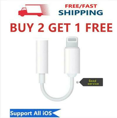 For Apple iPhone Headphone Aux Adapter Jack Lightning to 3.5mm Cord Dongle Nice