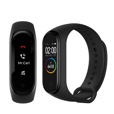 "Xiaomi Mi Band 4 0.95 "" Intelligent Armband Watch Fitness Schwarz Global Version"