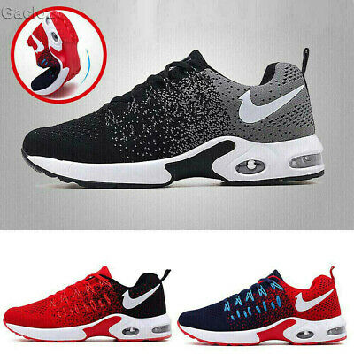 Mens Womens Air Bottom Sports Shoes Running Casual Sneakers Athletic Trainers HQ