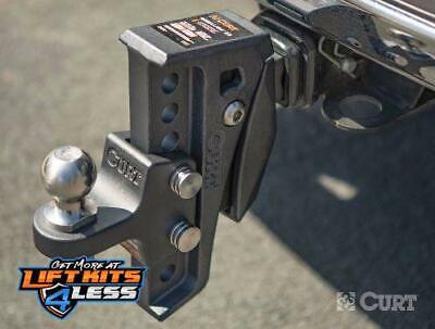 Curt 45949 Rebellion XD Adjustable Cushion Hitch Ball Mount