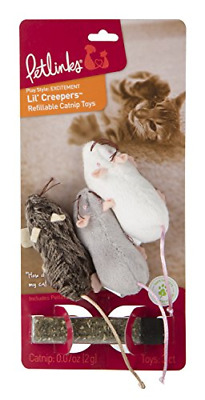 Refillable Catnip Cat Toys Pet Animals Play Set Paws Pouch