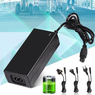 Universal Electric Balance Scooters Power Adapter Charger 42V 2A Lithium Battery