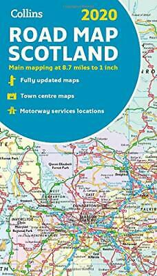 2020 Collins Map of Scotland New Map Book