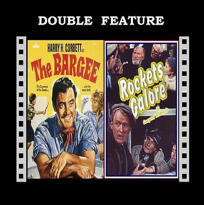 Rockets Galore / The Bargee ( Harry H Corbett Eric Sykes ) for Region 2 DVD New