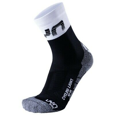 - UYN Cycling Light Calze Ciclismo Uomo, Black/White