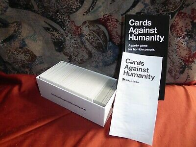 CARDS AGAINST HUMANITY game. UK edition.
