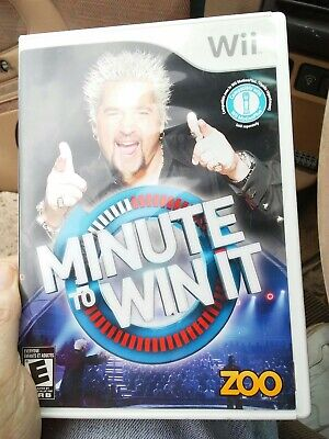 Wii game minute to win it