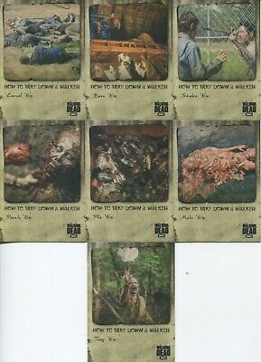 The Walking Dead Hunters and the Hunted * How to take down a Walker * Insert-Set
