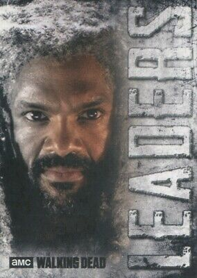 Topps The Walking Dead Hunters and the Hunted Leaders Insert #L-7 King Ezekiel