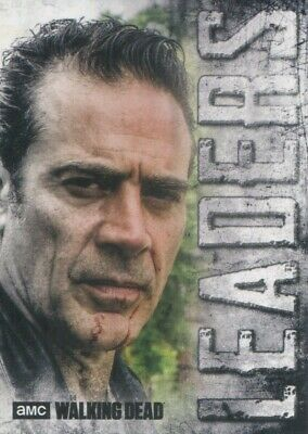 2018 Topps The Walking Dead Hunters and the Hunted Leaders Insert #L-6 Negan