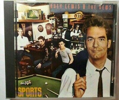 Huey Lewis And The News - Sports (CD) 1984 Chrysalis VK41412 - DIDX76