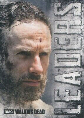 Topps The Walking Dead Hunters and the Hunted Leaders Insert #L-1 Rick Grimes
