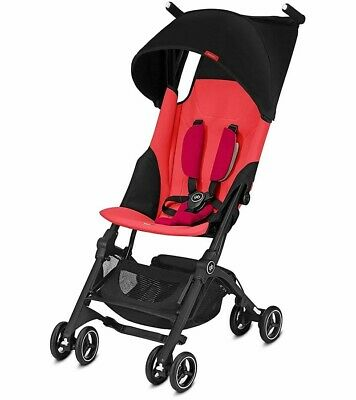 gb Pockit Plus Compact Stroller - Cherry Red  FREE SHIPPING / NEW IN BOX