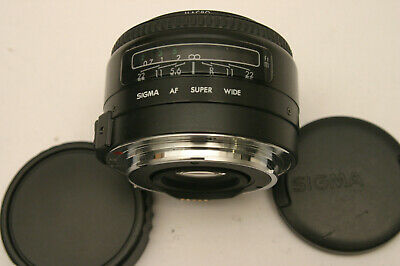 Sigma Super Wide II 24mm F2.8 lens. Canon EOS SLR fit
