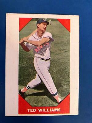 1960 Fleer Ted Williams #72 (Hall Of Fame) Boston Red Sox