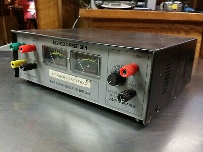 Elenco Precision XP-581 Four Linear Regulated DC Power Supply, Fixed & Variable