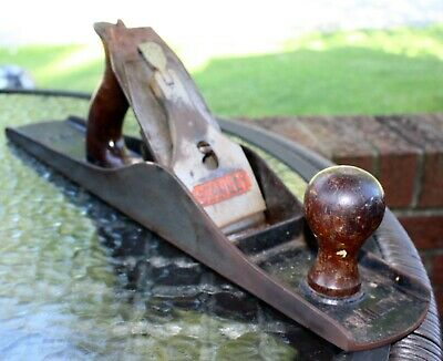 VINTAGE Bailey # 6 WOOD PLANE BAILEy Ribbed Bottom