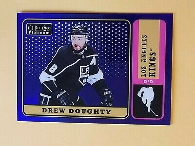 2018-19 OPC Platinum Blue Rainbow Retro #R-24 Drew Doughty #/149