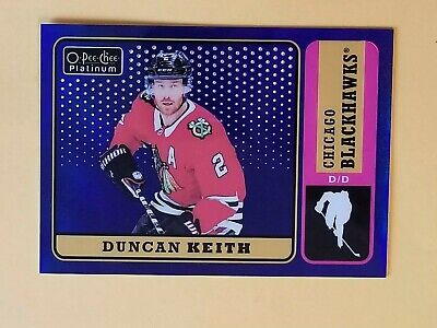 2018-19 OPC Platinum Blue Rainbow Retro #R-29 Duncan Keith #/149