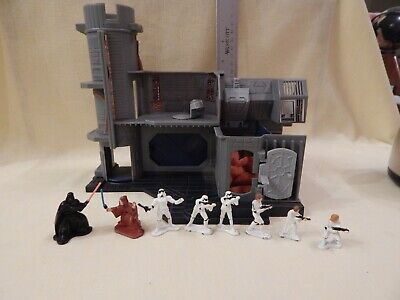 Star Wars Vintage Micro Collection DEATH STAR COMPACTOR Complete including FOAM