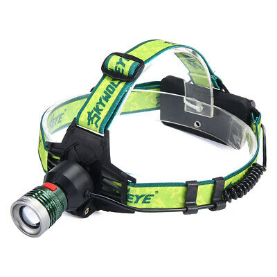 50000LM Headlamp Rechargeable USB XML LED Head Torch Flashlight Camping Outdoor