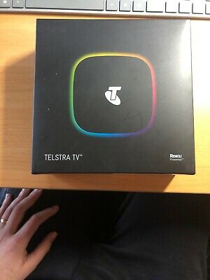 Telstra TV 4200TL Roku Powered | Black | Brand New | Unopened