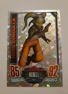 Rebel Attax Serie 1 HERA SYNDULLA N 174 Topps Star Wars