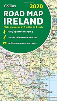 2020 Collins Map of Ireland New Map Book