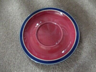 Denby Harlequin large breakfast saucer