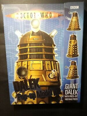 Doctor Who Pop Up Dalek Book