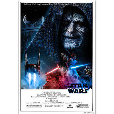 ZT2514 New Star Wars 2019 THE RISE OF SKYWALKER Movie Poster Art Decor