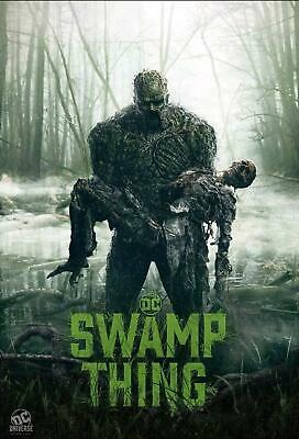 ZT2536 New Swamp Thing Season 1 TV Series Show Poster Art Decor