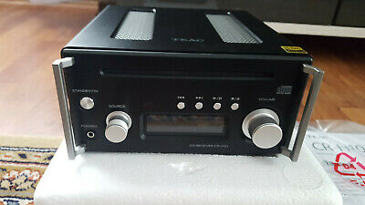 TEAC CR-H101 Schwarz  Mikro-CD-Receiver UKW PC-Streaming/USB Bluetooth