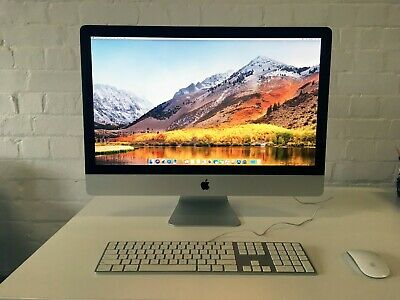 Apple iMac 27 late 2009 (A1312), 3.33GHz Core 2 Duo, upgraded 12GB RAM/500GB SSD
