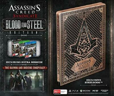 Assassin's Creed: Syndicate Steelbook Blood & Steel Edition (PC DV) NEW CHEAPEST