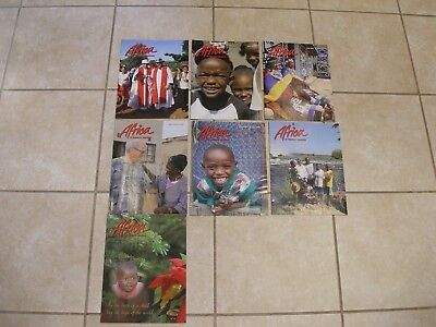 Africa St Patrick's Missions Missionary Magazine 7 Copies From 2009