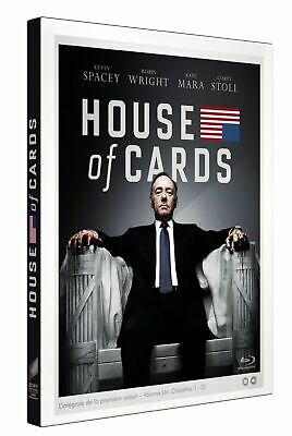 House Of Cards - L Integrale Saison 1 - Coffret Blu-Ray Neuf Sous Blister