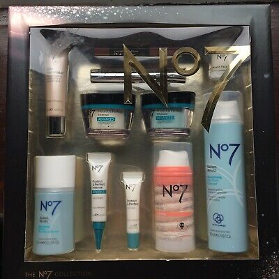 NEW Boots No 7 Protect and Perfect Gift Set Worth £149.50