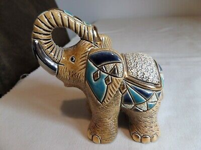 Superb De Rosa Rinconada Ceramic Elephant Figurine Collectable 771
