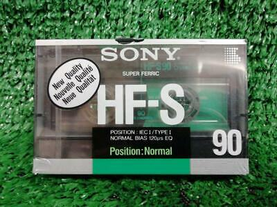 Sony HF-S 90  BLANK CASSETTE TAPE x 1 Brand New & Sealed