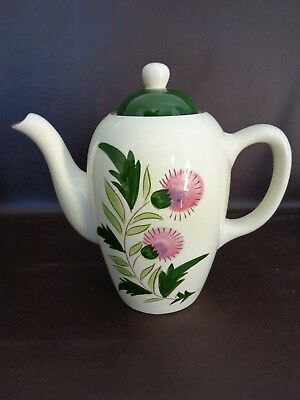Beautiful Vintage Stangl Pottery Thistle Coffee Pot (Cat.#14B028)