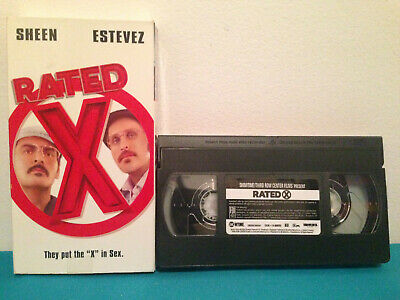 Rated XVHS tape & sleeve