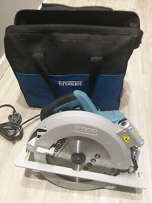 Erbauer 240V Circular Saw Erb384Csw In Carry Case