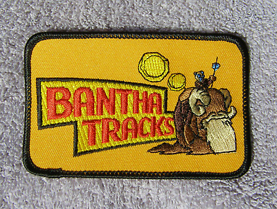 Vintage Star Wars Iron On Patch Bantha Tracks Fan Club Only Issue NOS  New