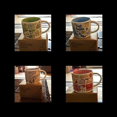 Disney Parks Starbucks Been There Series 2019 Mugs Disney World + Orlando
