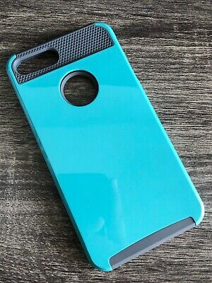 For iPhone 8 Plus 7 Plus Vena Hybrid Shockproof Case Cover Girl Cute Blue